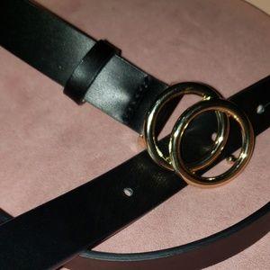 H&M Black Belt- xl